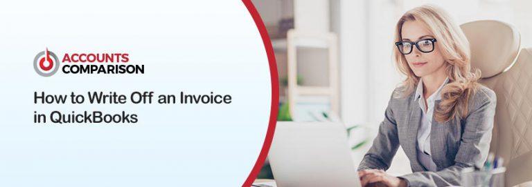 Write Off an Invoice in QuickBooks