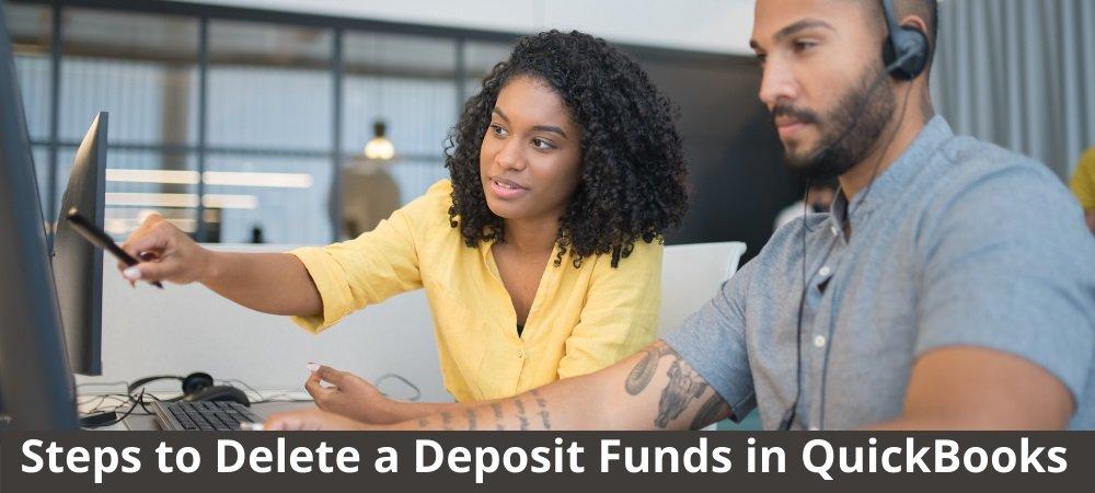 Deposit Funds in QuickBooks