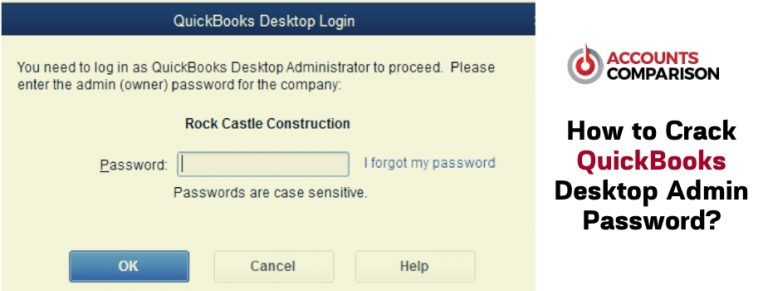 QuickBooks Desktop Admin Password