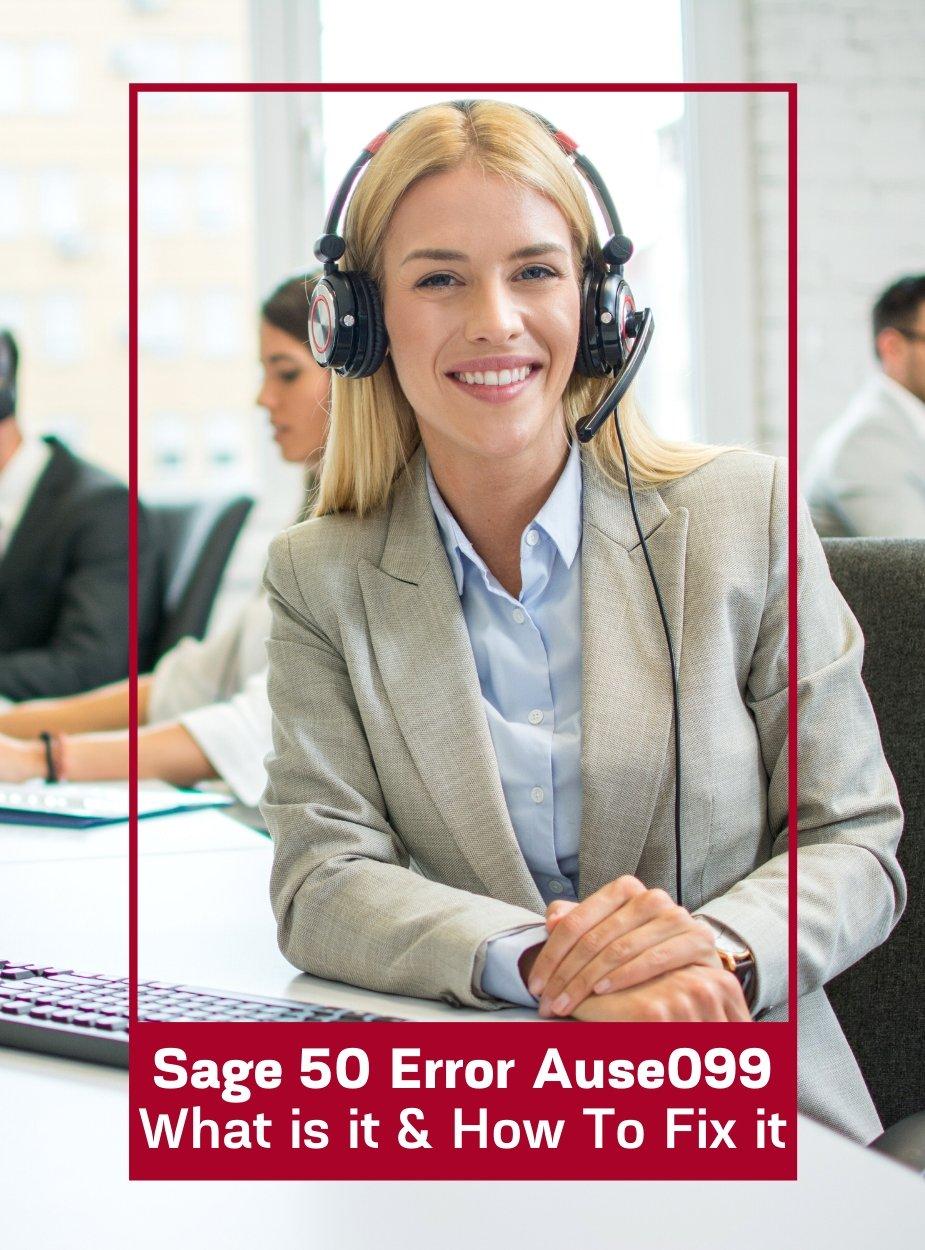 Sage 50 Error Ause099