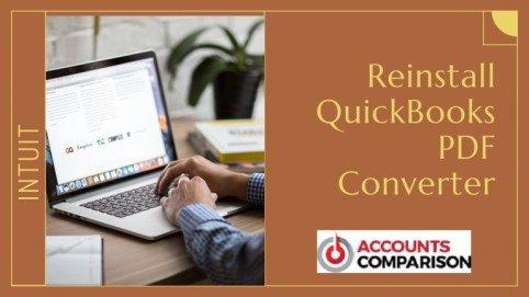 Reinstall QuickBooks PDF Converter